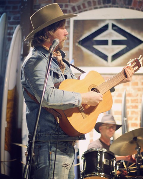 DOWN-HOME SOUNDS Tune in to the hauntingly beautiful country sounds of the Shawn Clark Family Band, streaming on Facebook and Instagram on May 2. - PHOTO COURTESY OF THE SHAWN CLARK FAMILY BAND