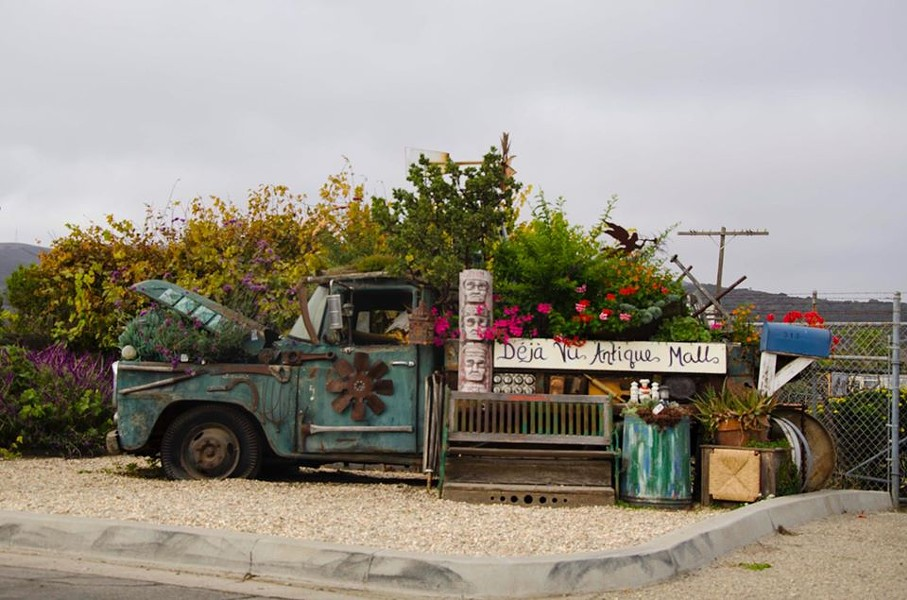 NAVIGATING GUIDELINES Santa Barbara County said non-essential retail businesses such as antique shops can start opening May 8 with curbside pick-up only, but some businesses are going one step further. - PHOTO COURTESY OF FACEBOOK