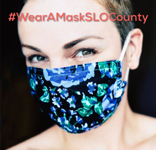 TAKING ACTION Women's March SLO promotes wearing face coverings with the campaign #WearAMaskSLOCounty. - PHOTO COURTESY OF WOMEN'S MARCH SLO