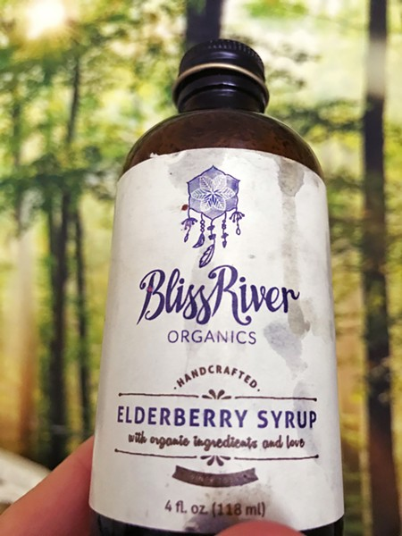 IMMUNE SYSTEM SHOTS Due to some guidance from SLOW Money, local food companies like BlissRiver Organics could increase its supply of elderberry syrup and keep SLO County residents healthy. - PHOTO BY BETH GIUFFRE