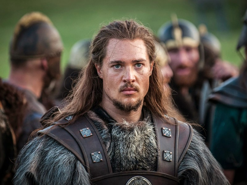 A MAN DIVIDED Uhtred of Bebbanburg (Alexander Dreymon) plays a Saxon noble kidnapped and raised by the Viking Danes, dividing his loyalties between the two factions fighting to control what will become England, in the Netflix series The Last Kingdom. - PHOTO COURTESY OF THE BBC