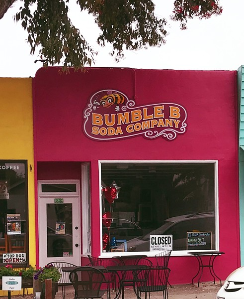 """LOOK CLOSER During the day, you may see a """"closed"""" sign, but Bumble B Soda Company is open for business. A great time to enjoy one of their sweet treats is on Saturdays at the Morro Bay Farmers Market. - PHOTO BY BETH GIUFFRE"""