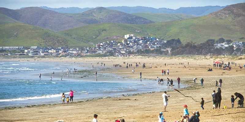 ENJOY IT Apparently the Best Thing About SLO County is the weather, so get out to places like Morro Bay and soak up that temperate climate.