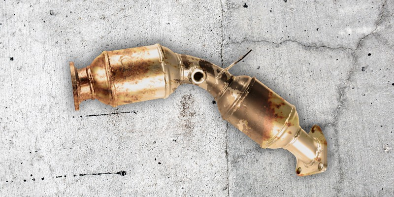 ON THE RISE Catalytic converter thefts continue unabated as property thefts in SLO increase.