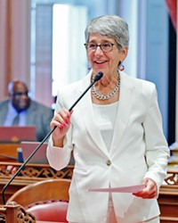 THE GOOD FIGHT During the past two decades, Hannah-Beth Jackson has served Santa Barbara County as both a state Assembly member and senator. Over the years, she's been a fierce advocate for domestic violence prevention and survivors through her legislation.