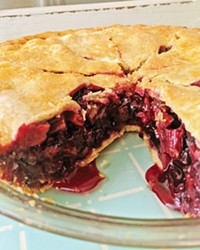 BERRY SEASON Pies are always in season for Ian and Alicia Denchasy, who serve up slices of berry and rhubarb pie at local farmers' markets when the local produce is at its peak.
