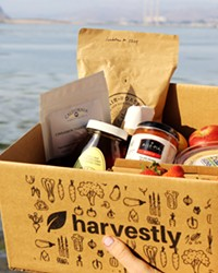 GROCERY STOP Launched just before the COVID-19 pandemic, Harvestly is a one-stop online shop for your local produce and value-added product needs, packaging your order and delivering it to your front door.