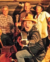 GET SHUCKED! The Mother Corn Shuckers release their fourth album, All In, on Jan. 22, and it's a real barn burner!