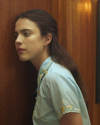 COMING OF AGE Margaret Qualley stars as Joanna, a recent college grad who goes to work for the literary agent representing J.D. Salinger, in My Salinger Year—the March 9 opening film of the SLO International Film Festival.