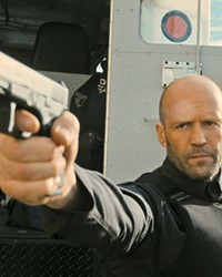 MYSTERY MAN In Guy Ritchie's Wrath of Man, H (Jason Statham) takes a job with an armored truck company that transports cash, but it's all a ruse to find the thieves who murdered his son in an armed robbery.