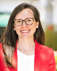 REPPING THE CENTRAL COAST Santa Barbara City Councilmember Meagan Harmon was appointed to the California Coastal Commission on May 4.