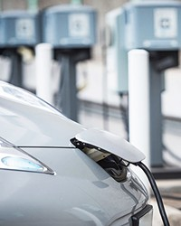 CHARGE IT On Aug. 5, CALeVIP will start accepting applications on a first-come, first-served basis from those who want to install electric vehicle (EV) charging stations in San Luis Obispo, Santa Barbara, and Ventura counties.