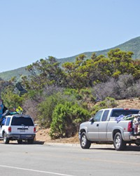 CAR LIVING The Los Osos community is looking for solutions to the growing number of unhoused residents living in vehicles on Palisades Avenue, near the park, community center, and library.