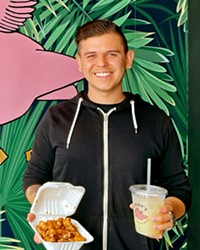 PASSIONATE ABOUT PLANTS Manager Alex Gonzalez says Ziggy's favorites include Korean cauliflower bites with gochujang sauce and house-made ginger lemonade.