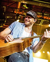 DRINK BEER. TALK GOD. Country-pop singer Chase Rice plays the Vina Robles Amphitheatre on Friday, Sept. 3.