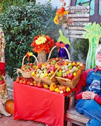 LUCKY 13 The 13th annual Cambria Scarecrow Festival runs Oct. 1 to 31. Displays are recycled and redesigned every two years.