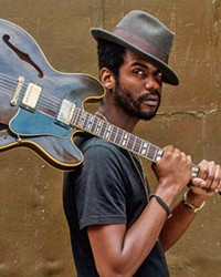 JIMI JUNIOR Gary Clark Jr.'s guitar work has been compared to everyone from Clapton to Hendrix, and on Sept. 17, he'll play the Avila Beach Golf Resort.