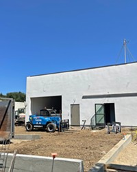 NOT OPEN Natural Healing Dispensary, Helios Dayspring's former company, must open its doors in SLO (pictured) before Oct. 22, or risk losing its permit, according to city officials.
