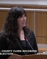 NEW ELECTION OFFICIAL Elaino Cano (pictured) was selected as SLO County's interim clerk-recorder on Oct. 12. Cano is currently the election's divison manager in Santa Barbara County.