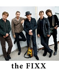THE FIXX IS IN!