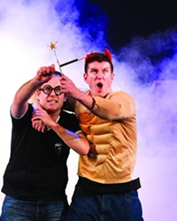 ONE HARRY POTTER FAN MEETS HER IDOL--SORT OF--IN 'POTTED POTTER' STAR JAMES PERCY