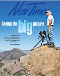 CAL POLY PROFESSOR AND PHOTOGRAPHER BRIAN LAWLER BRINGS PERSPECTIVE TO SLO MUSEUM OF ART