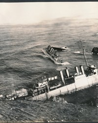 MIDNIGHT TRAIN: NINETY YEARS AGO, SAN LUIS OBISPO RESPONDED TO THE LARGEST PEACETIME LOSS OF NAVAL VESSELS IN AMERICAN HISTORY AT HONDA POINT