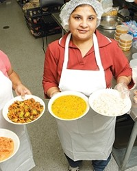 TIFFIN DELIVERS INDIAN FOOD