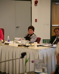 HEADING OUT :  Cuesta College president Marie Rosenwassers resignation will be effective Dec. 31. The district board of trustees is planning to discuss a search for someone to take her place.