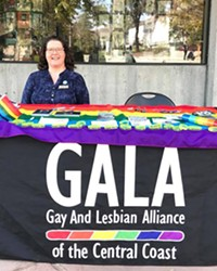 WORKING TOGETHER Newly appointed executive director of GALA, Michelle Call, is hoping to create a bigger support network for the LGBTQ community.
