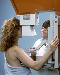 SCREENINGS California's Every Woman Counts program provides free breast cancer screening services, like mammograms, to underinsured and uninsured women across the state, including those in SLO County.