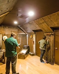 BREAK OUT The Ultimate Escape Rooms in Solvang recently opened a new experience, Gold Fever, which Sun Managing Editor Joe Payne and New Times Calendar Editor Caleb Wiseblood helped solve in 36 minutes.