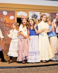 THERE BE PIRATES Students perform a scene from the Pirates of Penzance as part of the SLO County Office of Education Arts Collaborative.
