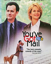 YOU'VE GOT WHAT NOW? Meg Ryan and Tom Hanks, together for their third rom-com, navigate Manhattan's Upper West Side book lovers and their own online vs. real-life personas in You've Got Mail.