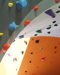 EXPANDING The owners of The Pad Climbing run a 14,000-square-foot gym in San Luis Obispo, a roughly 10,000-square-foot gym in Santa Maria, and recently purchased a facility in Las Vegas.