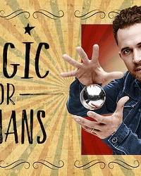 COMEDY MEETS MAGIC Justin Willman hosts the Netflix show Magic for Humans, which released its second season in early December.