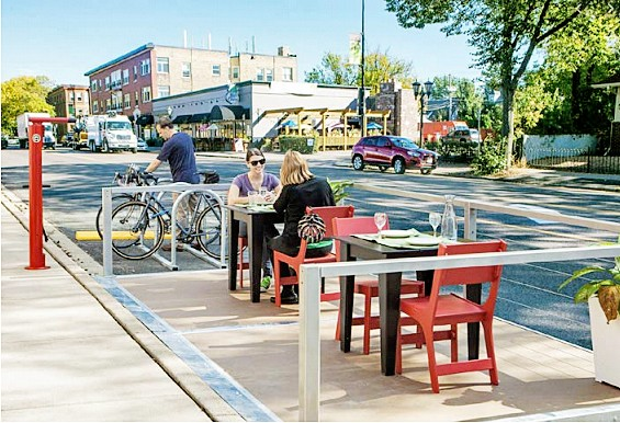 SERVING CUSTOMERS Restaurants are allowed to offer customers table service after Gov. Gavin Newsom lifted stay-at-home orders. - PHOTO COURTESY OF THE CITY OF PASO ROBLES