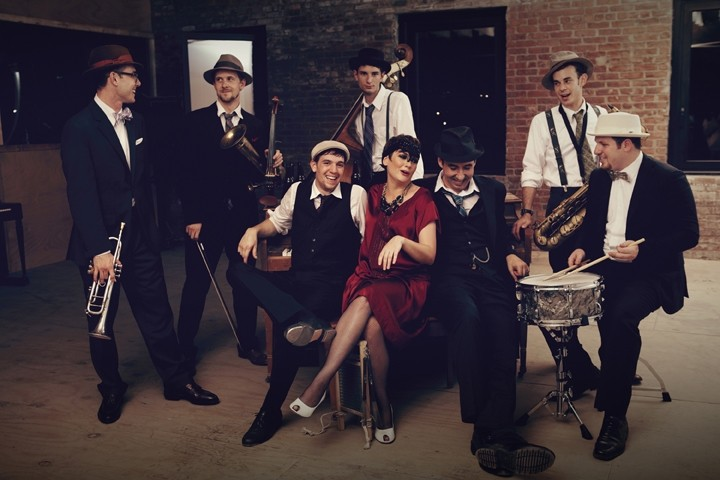 HOT JAZZ:  Dixieland jazz kings the Hot Sardines play Cal Poly's Spanos Theatre on Jan. 14. - PHOTO BY HARRY FELLOWS