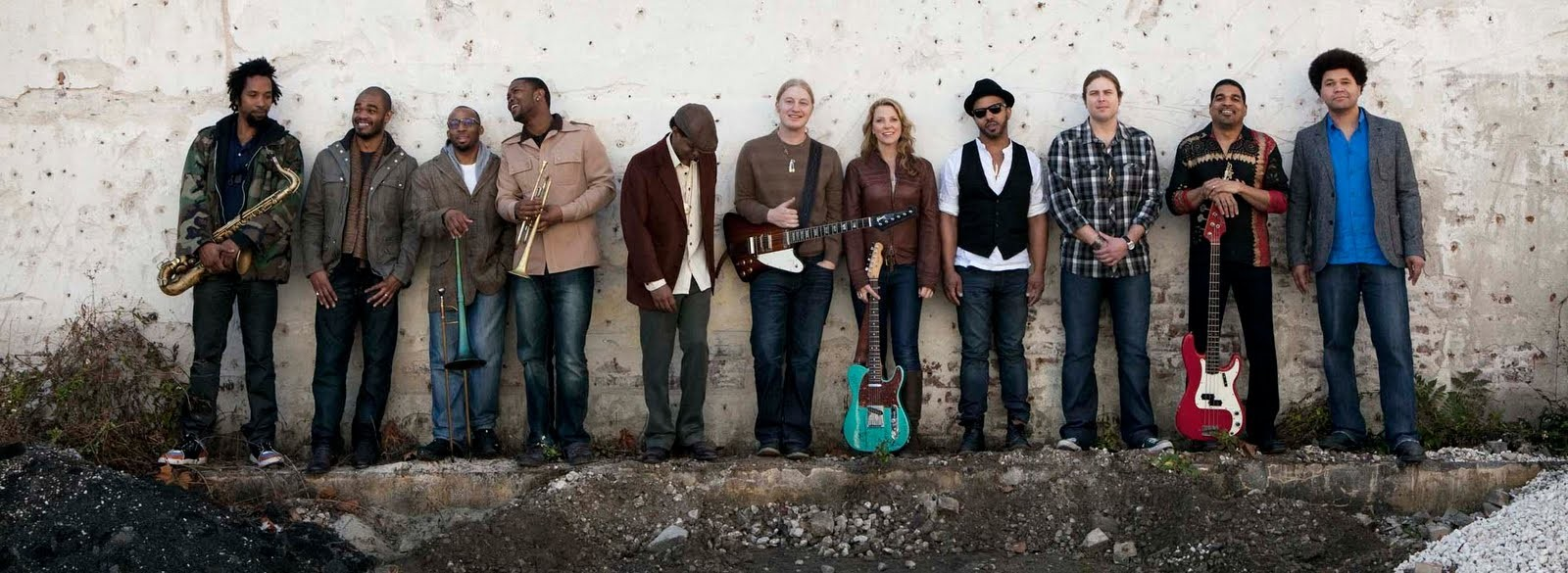COLORBLIND BLUES:  The Tedeschi Trucks Band bring their soulful sounds to Vina Robles Amphitheatre on Aug. 9. - PHOTO COURTESY OF THE TEDESCHI TRUCKS BAND