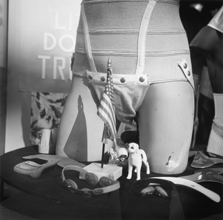 "SHOP-WINDOW STILL LIFE :  Tress' photographs of shop window displays seem a precursor to his later still-life series ""Fishtank Sonata"" and ""Hospital."" - PHOTO BY ARTHUR TRESS"