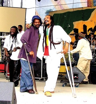 "POSITIVE VIBES:  International reggae superstar Israel Vibration (pictured) headlines ""SLO Dayz,"" with Rootz Underground and Outlaw Nation on July 12 at The Graduate. - PHOTO COURTESY OF ISRAEL VIBRATION"