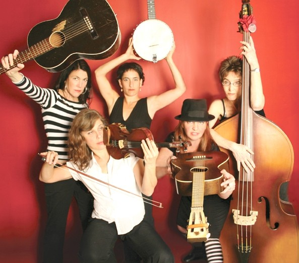 REIGNING WOMEN:  The Red Barn Community Music Series has all-female, old-time music sirens The Stairwell Sisters coming to Los Osos's Red Barn on May 17. - PHOTO COURTESY OF THE STAIRWELL SISTERS