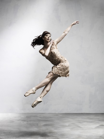 TRUE TALENT :  Dancer Harmony True is one of 30 company members who will be performing in The Slightest Movement. - PHOTO BY BARRY GOYETTE
