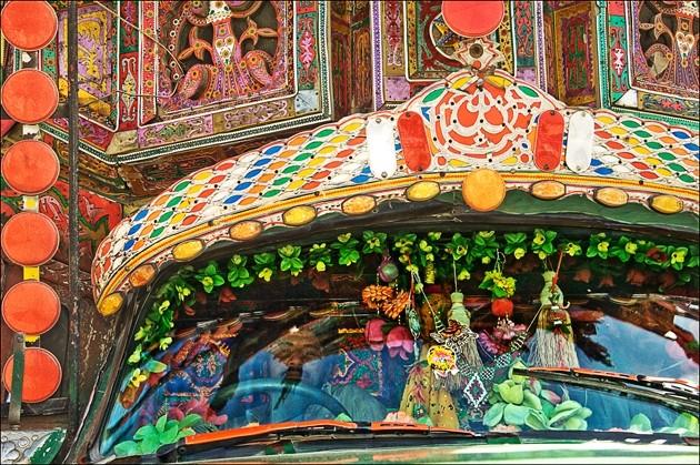 PAKISTANI BUS DRIVERS : - PHOTO BY GLORIANN LIU