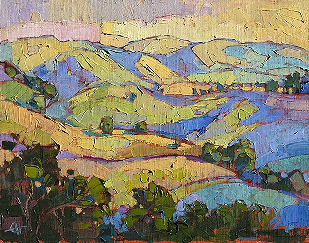 Erin Hanson S Wine Country Is A Technicolor Dream Arts