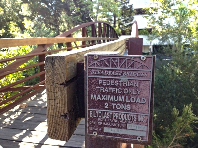 REPAIR OR REPLACE :  SLO's bridges are aging, and it's up to the city to decide to repair them, or start from scratch and replace them completely. - PHOTOS BY CHRIS MCGUINNESS