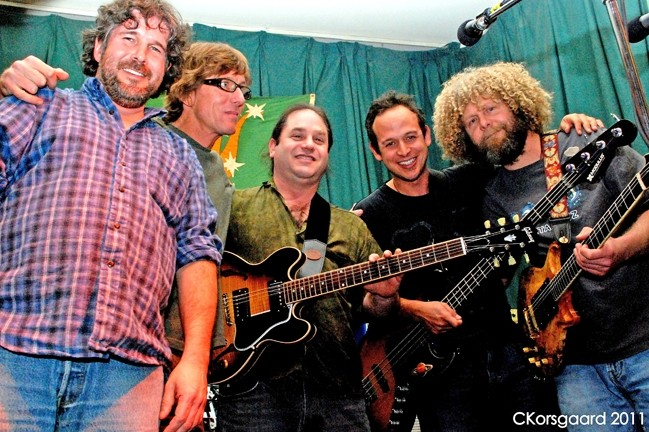 DEADHEADS UNITE :  Grateful Dead tribute act The China Cats returns to Mongo's on June 25 for another night of Deadheadalicious music. - PHOTO COURTESY OF THE CHINA CATS