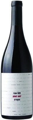 ROW 503 2012 PINOT NOIR WILLAMETTE VALLEY :