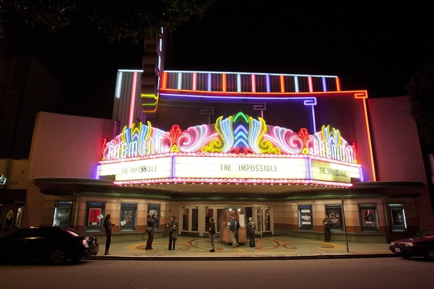 RE-OPENING NIGHT :  Following a brief closure in early February, the iconic Fremont Theatre in downtown San Luis Obispo is back up and running after a one-year lease agreement was reached in time for Valentine's Day—but what kind of venue will it be in 2014? - PHOTO BY STEVE E. MILLER