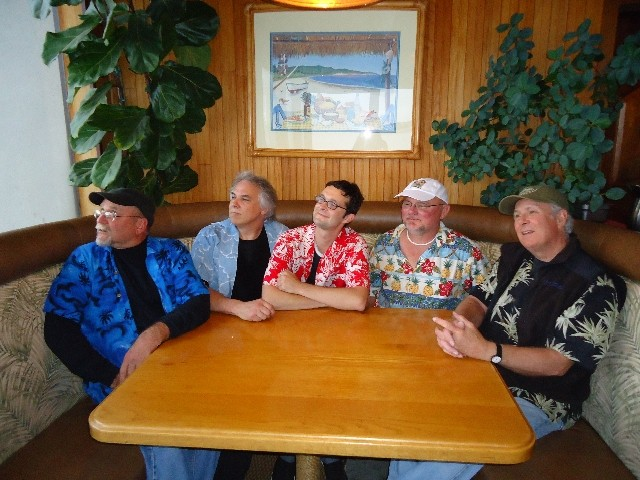 CHOMP ON THIS! :  Surf and early California rock act The Dentures brings its raucous rock to the Merrimaker on July 2. - PHOTO COURTESY OF THE DENTURES